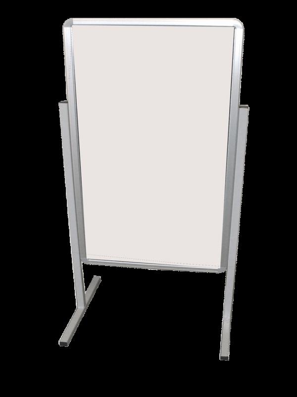 Whiteboard On Legs 600 X 900