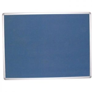 Fabric Noticeboard With Aluminium Frame