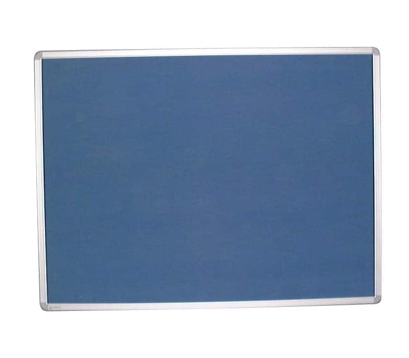 Fabric Noticeboard With Aluminium Frame