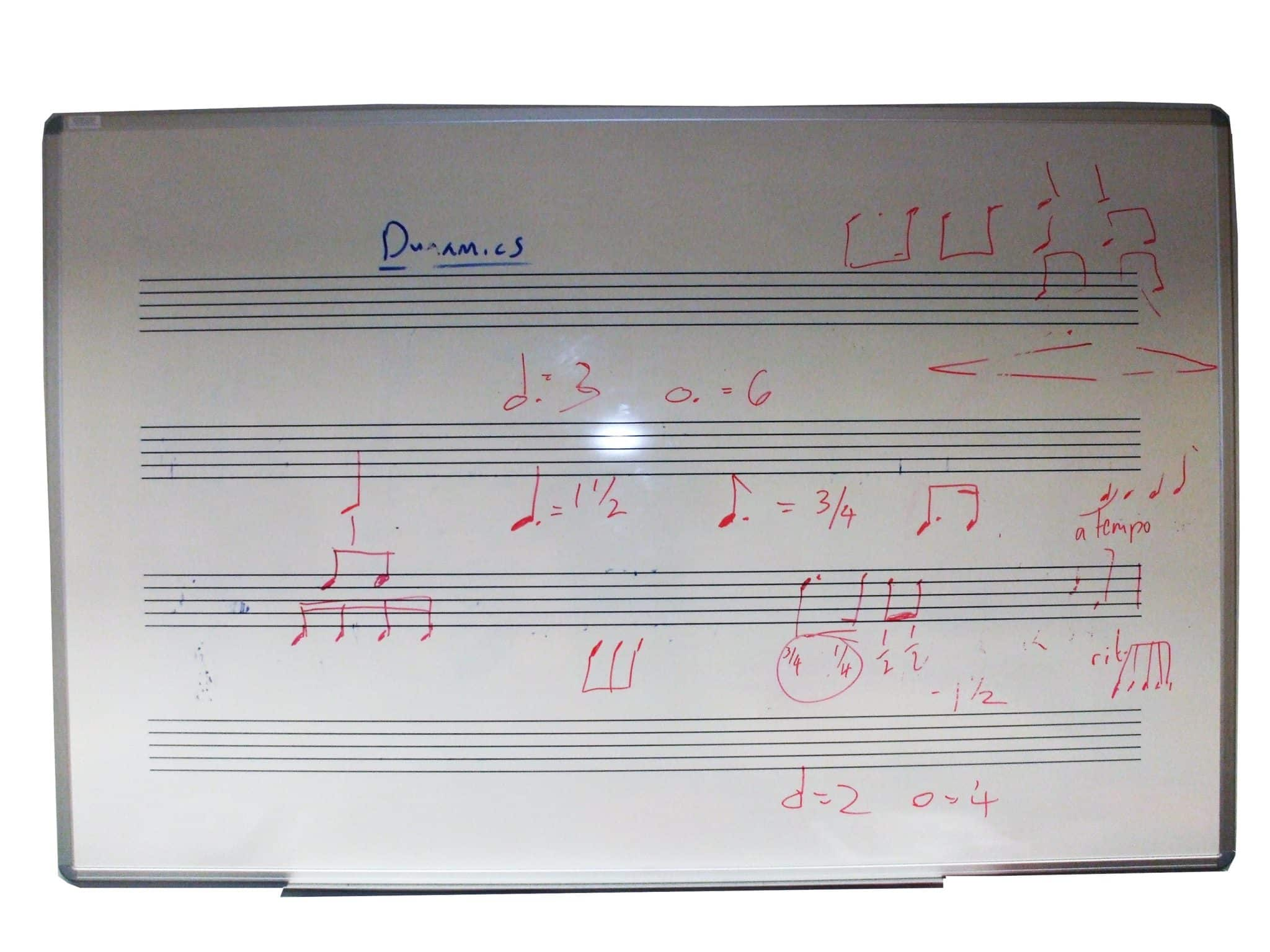 Music Stave Whiteboards