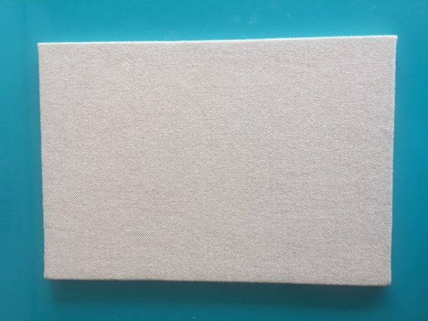 Fabric Noticeboard With Wrapped Edge