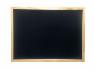 Blackboard Pine Framed