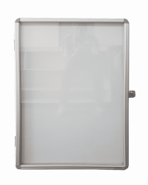 Lockable Magnetic Whiteboard